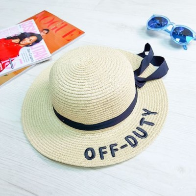 """Шляпа белая """"Off - Duty"""" 502-04-2"""