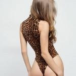 Фото Боди леопардовый принт без рукавов 172-04-1