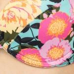 Фото Купальник раздельный цветочный принт высокие плавки 181-07