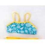 Фото Купальник детский раздельный желто-голубой 160-09