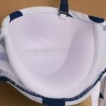 Фото Купальник раздельный в сине-белый горох Push-Up 700-15