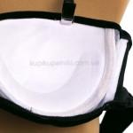 Фото Купальник раздельный черный бархатный с жемчугом  700-04