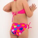 Фото Детский раздельный купальник LOL розовый 602-13