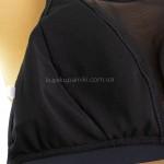 Фото Купальник раздельный черный купальник мягкая чашка лиф с сеточкой 602-02