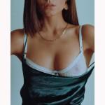 Фото Женское белье комплект из мягкого кружева белый 328-11