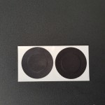 Фото Наклейки на грудь черные 412-02-1