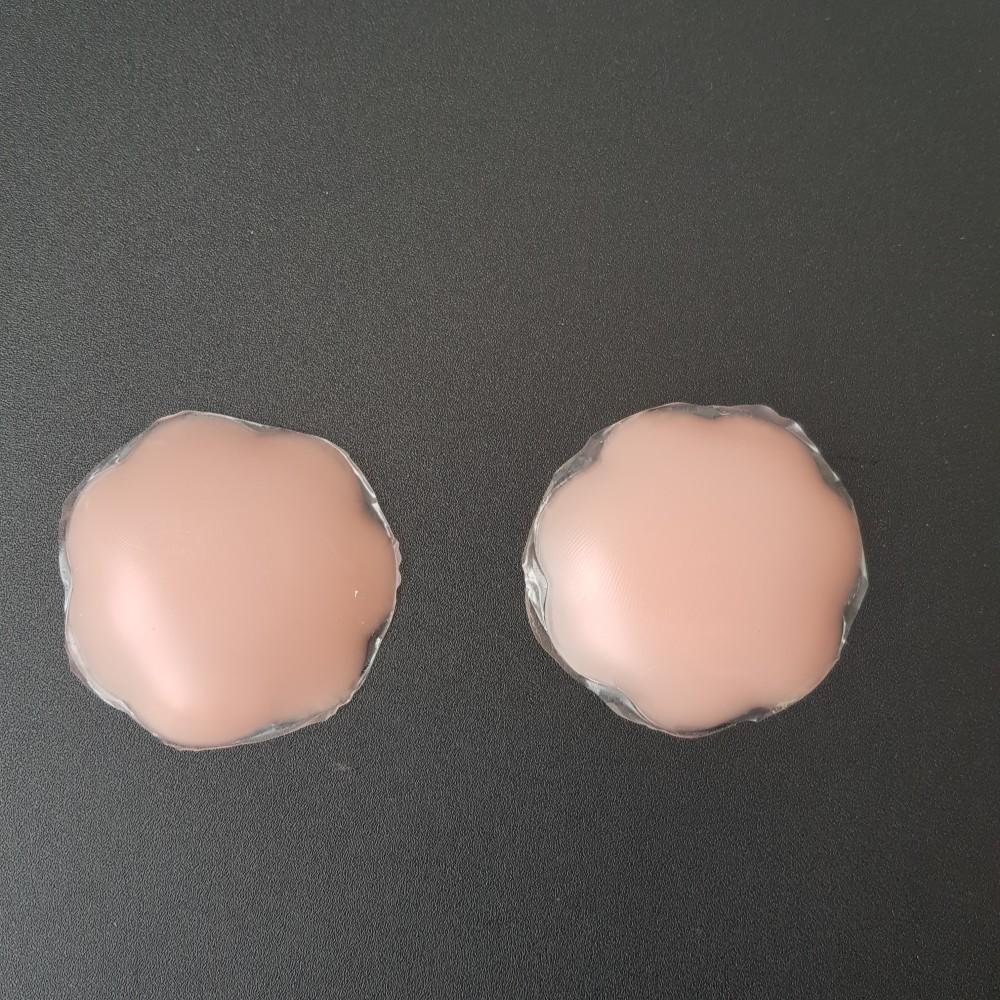 Фото Наклейки на грудь силиконовые на клейкой основе многоразовые 419-02