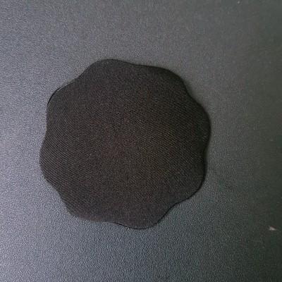 Наклейки на грудь на гелевой клейкой основе черные 419-12-1