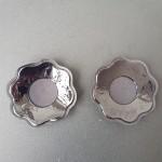 Фото Наклейки на грудь на гелевой клейкой основе черные 419-12-1