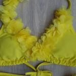 Фото Купальник детский раздельный желтый 700-26
