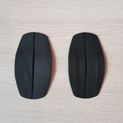 Силиконовые подкладки под бретели чёрные 419-03-1