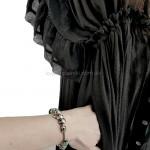 Фото Пляжное длинное платье чёрное 405-51-4