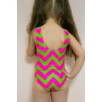 Фото Купальник детский розово-зеленый LOL  602-38