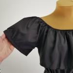 Фото Комбинезон шорты чёрный  407-02